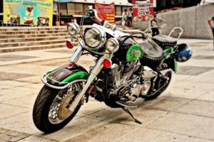 Motorrad boots für chopper