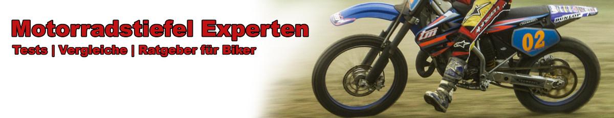 Motorradstiefel Test Banner