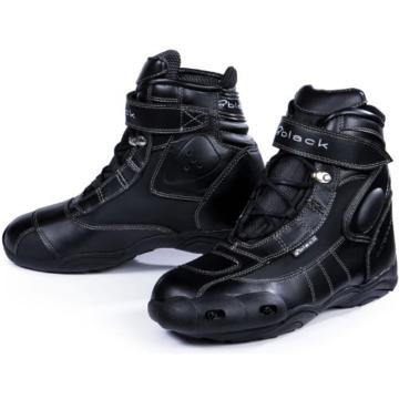 Black fc tech motorradschuhe schwarz