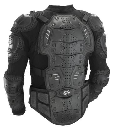 Fox Titan Protektorenjacke Rücken