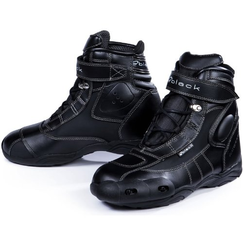 black fc tech flache motorradschuhe motorradstiefel experten. Black Bedroom Furniture Sets. Home Design Ideas